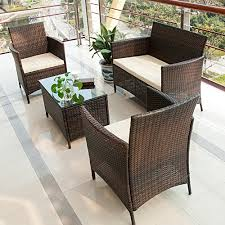 garden furniture patio uamp: black wicker patio furniture sets with small square patio table and person patio chairs
