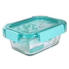 Контейнер KOMAX ICE GLASS PREMIUM 385мл прямоугольный ...