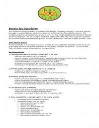 barista resume examples resume examples  barista