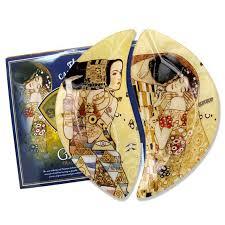<b>Набор тарелок Ожидание/Поцелуй</b>, 21,5х12 см, 2 шт. от Carmani ...