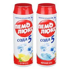 Порошок <b>чистящий ПЕМОЛЮКС</b> Лимон/Морской бриз п/б 480г ...