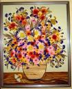 Как сделать картину с цветами
