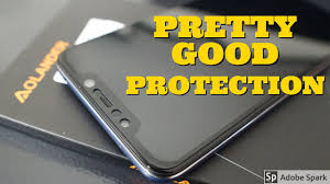 Pocophone F1 <b>Tempered Glass</b>/<b>Screen Protector</b> Install and Review ...