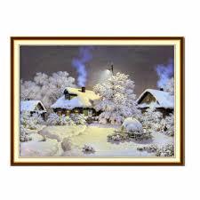 1set <b>Winter</b> Wonderland <b>Diamond Embroidery</b> Painting Cross Stitch ...