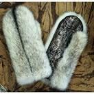 Как сшить рукавицы из меха