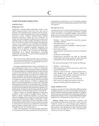 computer aided instruction pdf available