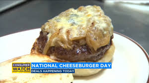 National Cheeseburger Day deals | abc7news.com