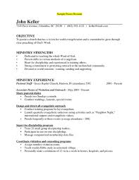 sample of a pastors resume sample resumes for senior pastors sample resume for pastors