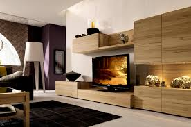 tv wall unit storage  wall unit with light wood and tv living room cool tv stand ideas and