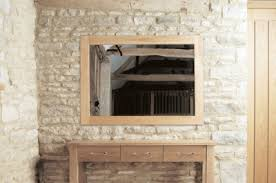 baumhaus mobel oak medium wall mirror baumhaus mobel oak 2