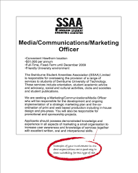 marketing area of study degrees to careers the university of example job ad example job ad