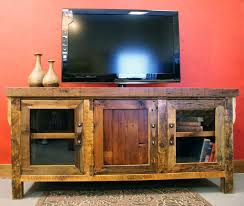 any tv would look great on these entertainment centers barn wood furniture ideas