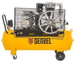 <b>Компрессор масляный Denzel</b> DR 4000/100, 100 л, 4 кВт ...