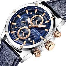 Men Business Watches, MF MINI FOCUS Quartz Wrist ... - Amazon.com