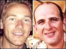 Corporal Rob Deering and Marine Damian Davies - _45696911_deeringdavies226