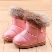 COZULMA <b>Winter</b> Plush Baby Girls <b>Snow Boots Warm Shoes Pu</b> ...