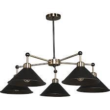 <b>Люстра подвесная Lamplandia</b> Harsh L1100-5, 5 ламп, 15 м², цвет ...