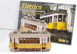 <b>3D Wooden Puzzle</b> (Tram) | Visit Lisboa