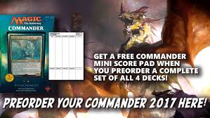COMMANDER 2017 | Magic: The Gathering Spoilers, News ...