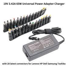19V 3.42A 65W <b>Универсальный адаптер питания</b> зарядное ...