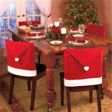 household dining table set christmas snowman knife: pcs set new year christmas style dining room chair cover decoration  party table decorations