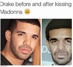 Trolls Come For Madonna For That Disastrous Kiss With Drake ... via Relatably.com