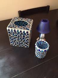 accessories toothbrush holder glasses glass mosaic glass bathroom accessories tissue box toothbrush holder votive