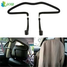 <b>Stainless steel Car Scalable</b> Hangers Back Seat Headrest Coat ...