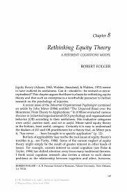 rethinking equity theory springer inside