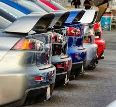 <b>Спойлер</b> Evolution (ABS) на <b>Mitsubishi</b> Lancer 10 (X)