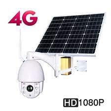 CAMCALL <b>IP66 Waterproof</b> 4G Ptz <b>Outdoor</b> Wireless Photovoltaic ...