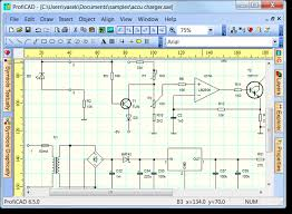electronic circuit diagram drawing software free download    moresave image  circuit schematic drawing software