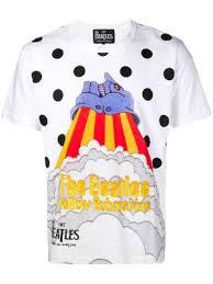 Купить мужские футболки The Beatles X Comme Des Garçons в ...