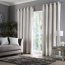Crushed Velour <b>Snow</b> Eyelet <b>Curtains</b> | Dunelm