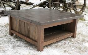 modern rustic coffee table brooklyn modern rustic reclaimed wood