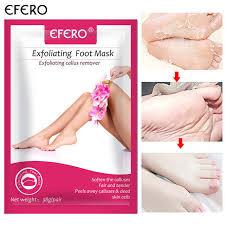 Online Shop efero2pcs=<b>1pair</b> Rose <b>Foot</b> Peeling Mask for <b>Legs</b> ...