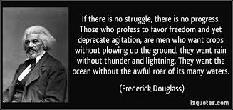 Image result for without struggle there is no progress