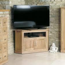 baumhaus mobel oak corner television cabinet baumhaus mobel oak large 3