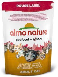 <b>Паучи Almo Nature Rouge</b> label холистик для кошек 55 г - купить в ...
