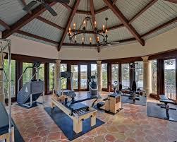 exercise room decor