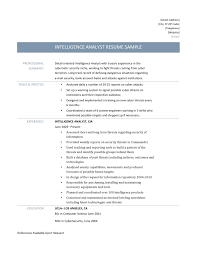 intelligence analyst resume samples tips and templates online intelligence analyst resume