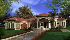 Mediterranean House Plans Luxury One Story Mediterranean Homes    Mediterranean House Plans Luxury One Story Mediterranean Homes