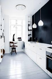 Black White Kitchen Designs Black And White Minimalistic Kitchen Design Pictures Photos And