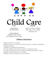 childcare flyers anuvrat info daycare flyer templates teamtractemplate s