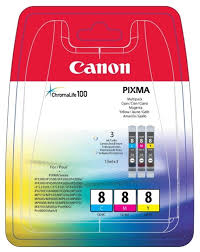 <b>Набор картриджей Canon</b> CLI-8 C/M/Y Multipack (0621B029 ...