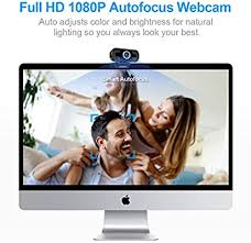Webcam With Microphone, <b>HD 1080P Computer</b> Usb Webcams for ...