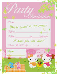 pretty practical mom printable hello kitty invitations printable hello kitty invitations