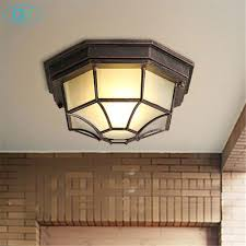 <b>American industrial style</b> retro <b>led</b> wrought iron ceiling lamp ...
