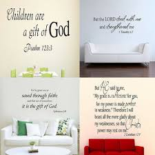 <b>Bible</b> Vinyl <b>Wall Decal Christian</b> Quote Words Art Sticker Home ...