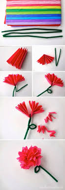 17 best ideas about tissue paper flowers paper we used to make these all the time for decorations when i was a kid i had forgotten all about them amanda trevizo tissue paper flowers can be done
